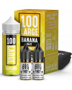 100 Large banana haze e-liquid 100ml