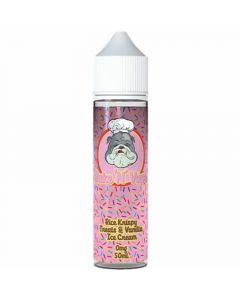 Bake 'N' Vape rice krispy treats & vanilla ice cream 50ml