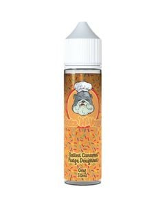 Bake 'N' Vape salted caramel fudge doughnut 50ml