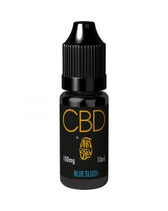 CBD by Ohm Brew blue slush e-liquid 10ml
