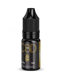 CBD by Ohm Brew blueberry bubble e-liquid 10ml