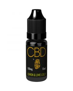 CBD by Ohm Brew lemon & lime lolly e-liquid 10ml