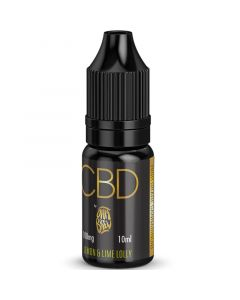 CBD by Ohm Brew lemon & lime lolly e-liquid 10ml