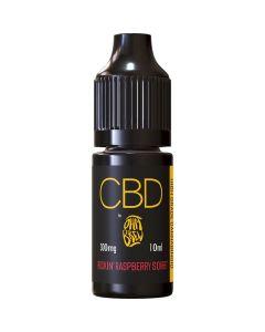 CBD by Ohm Brew rockin' raspberry sorbet e-liquid 10ml