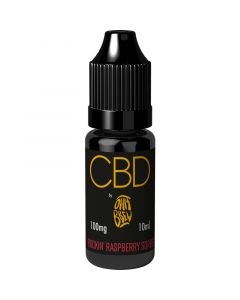 CBD by Ohm Brew rockin' raspberry sorbet e-liquid 10ml