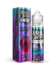 Double Drip raspberry sherbet e-liquid 50ml