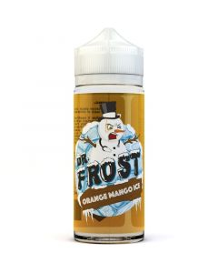 Dr Frost orange mango ice e-liquid 100ml