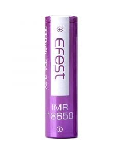 Efest IMR 18650 3000 mAh flat top battery
