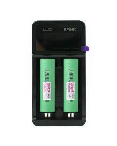 Efest LUC v2 LCD charger bundle