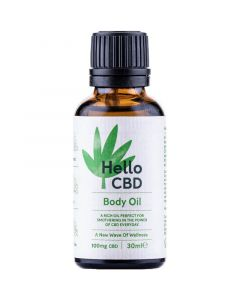Hello CBD 50mg body oil 30ml