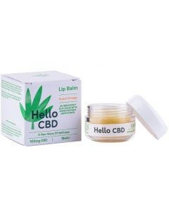 Hello CBD 50mg orange lip balm 15ml
