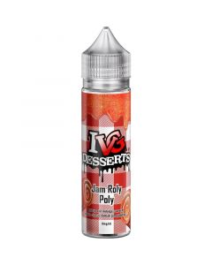 IVG DESSERTS jam roly poly e-liquid 50ml