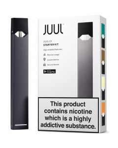 JUUL C1 Connected starter kit with 4 pods