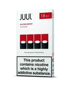 JUULpods alpine berry pods 4 pack