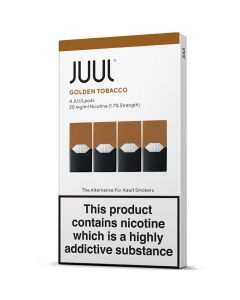 JUULpods golden tobacco pods 4 pack