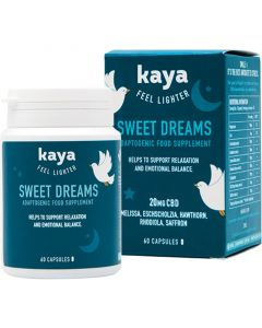 Kaya CBD 20mg Sweet Dreams Adaptogenic supplement