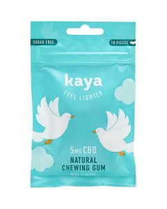 Kaya CBD 5mg mint hemp chewing gum