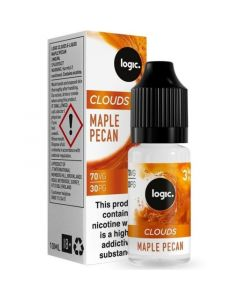 Logic CLOUDS maple pecan e-liquid 10ml