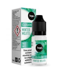 Logic CLOUDS minted mojito e-liquid 10ml