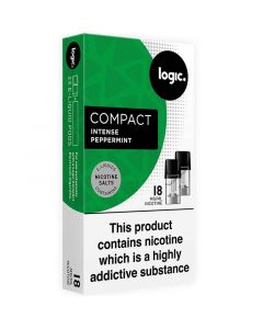 Logic COMPACT berry mint pods 2 pack