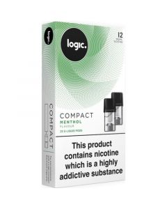 Logic COMPACT menthol pods 2 pack