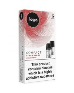 Logic COMPACT strawberry pods 2 pack