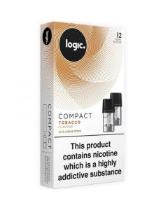 Logic COMPACT tobacco pods 2 pack