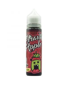 Monsta Vape strawz apple e liquid 50ml