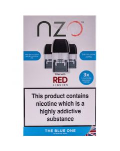 nzo the blue one pods 3 pack