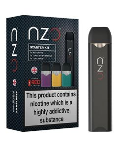 nzo vape pen starter kit with 3 pods