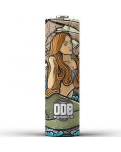 ODB battery wrap 20700 mermaid 4 pack