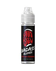 Ohm Brew Badass Blends spiced-up strawberry 50ml