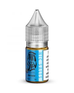 Ohm Brew 50/50 blue slush e-liquid