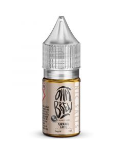 Ohm Brew 50/50 caramel latte e-liquid