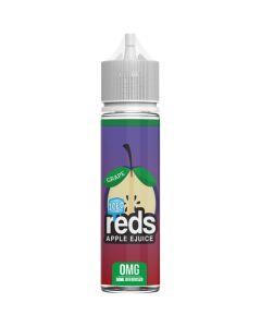 Reds Apple Ejuice iced grape apple e-liquid 50ml