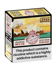 Tea Time Travels australian lemon pavlova e-liquid 3x10ml