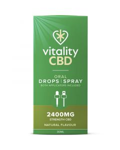Vitality CBD berry full spectrum e-liquid 30ml
