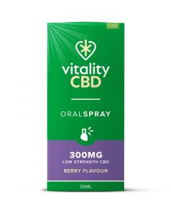 Vitality CBD berry full spectrum oral spray 30ml