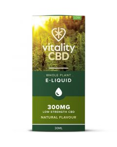 Vitality CBD natural Whole Plant e-liquid 30ml