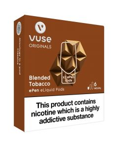 Vuse ePen blended tobacco pods 2 pack