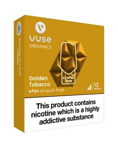 Vype ePen 3 golden tobacco pods 2 pack