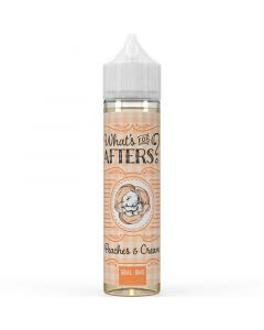 What's For Afters? peaches & cream e-liquid 50ml