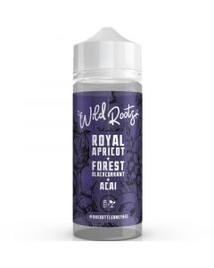 Wild Roots royal apricot e-liquid 100ml