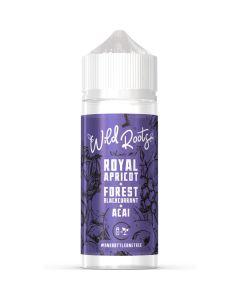Wild Roots royal apricot e-liquid 100ml