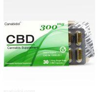 Canabidol CBD 300mg oral capsules