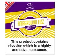 Cirro fairground fizz e-liquid 3x10ml