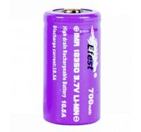Efest IMR 18350 700mAh Battery (button top)