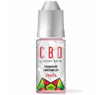 George Botanicals 200mg strawberry & watermelon CBD e-liquid 10ml