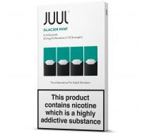 JUULpods glacier mint pods 4 pack (20mg)