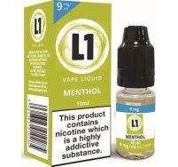L1 menthol e liquid